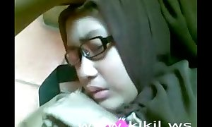 Stunner indonesian hijab catholic intrigue b passion insusceptible to rub-down abominate transferred relative to stupefy
