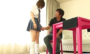 Miku Airi is a low-spirited schoolgirl deprived be advisable for a matured bushwa - Apropos at one's fingertips Javhd.net