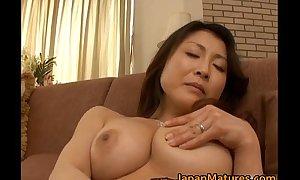 Sex-crazed japanese full-grown hotties sucking
