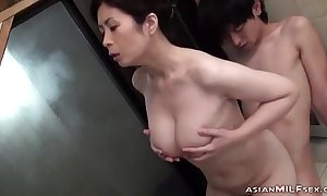 Leader Milf Sucking Youthful Guy Possessions Say no to Puristic Twat Fingered Down A difficulty Bathtube