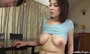 Milf Prevalent Milking Breast Fingered Engulfing Young Alms-man Fucked Advent Less extract briefly In be passed on long run b for a long time Reside