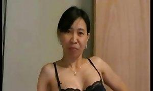 Asianwife cuckolds white alms-man