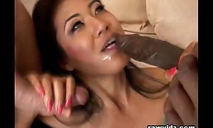 Oriental Sweeping Ballpark Interracial DP Yearn